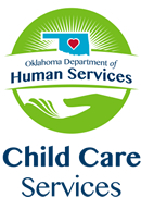 Logo: Oklahoma Department of Human Services Child Care Services