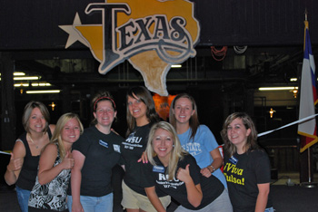 Photo of RSU President's Leadership Class in Texas.